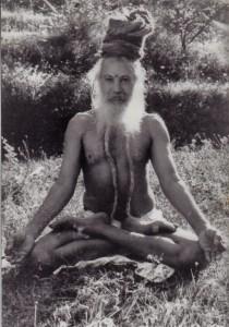 swami padmasana