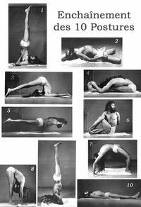 Poster les dix postures